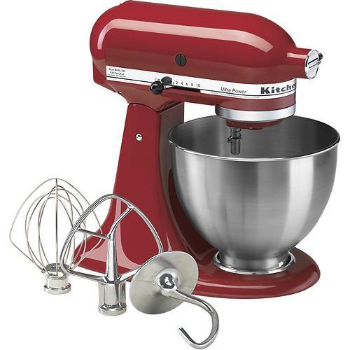 KitchenAid - Ultra Power Tilt-Head Stand Mixer - Empire Red