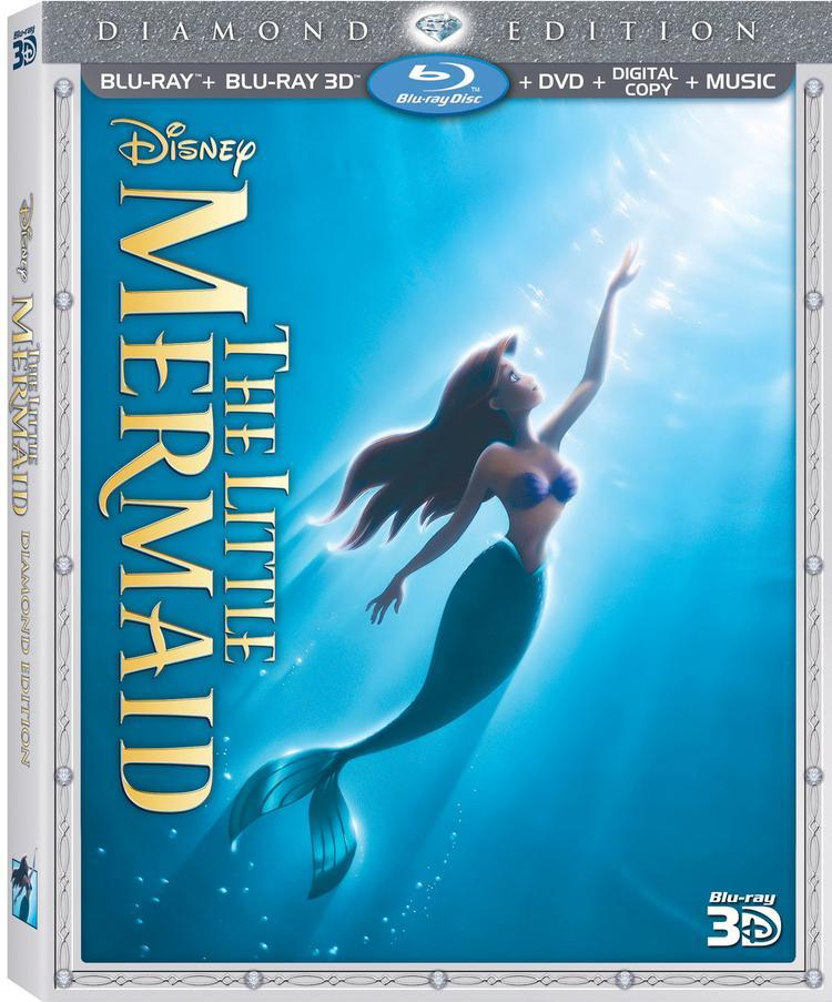 Little Mermaid DE 3D Box Art