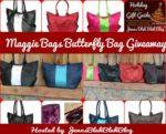 maggie bags handbags in black, gray, read, black and white eco friendly handbags made out of seatbelts from cars