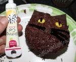 Black Cat Halloween Cupcakes