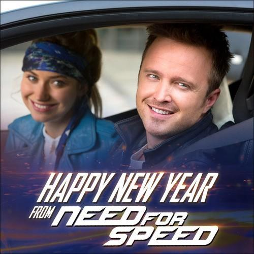 Need for speed with aaron paul