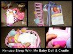 The Nenuco Sleep With Me Baby Doll & Cradle #Giveaway #GiftGuide