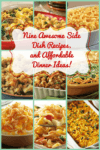 Nine Side Dish Recipes & Affordable Dinner Ideas You'll Love!
