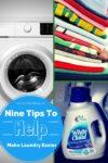 Nine Tips To HELP MAKE LAUNDRY EASIER 100x150 $2 off SNICKERS® and Milky Way® Bites Coupon #GameDayBites #shop