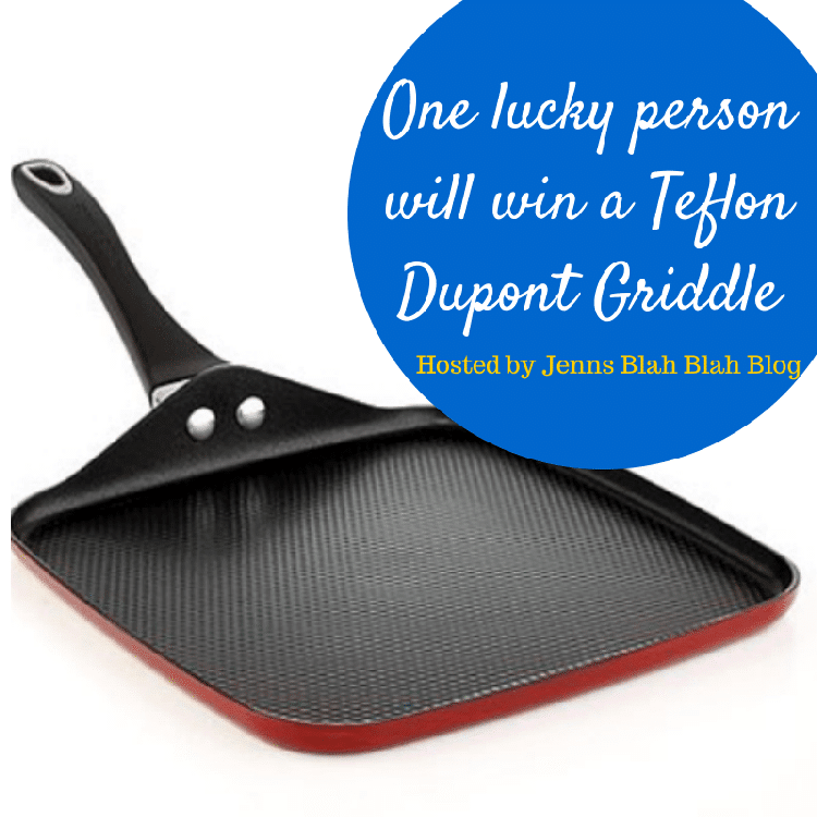 #Giveaway: Enter To Win A Teflon Griddle!