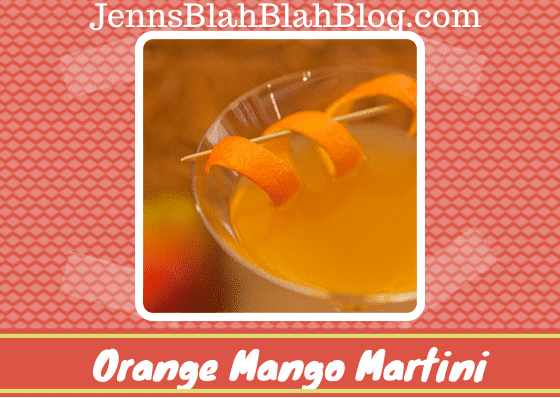 Orange Mango Martini