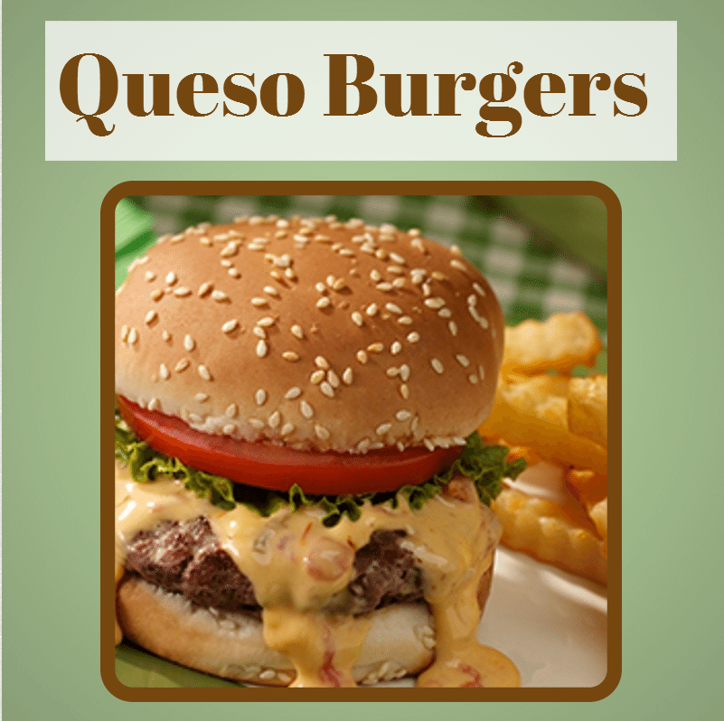 Queso Burgers for super bowl sunday Eight Easy To Make Super Bowl Recipes You Dont Want To Miss