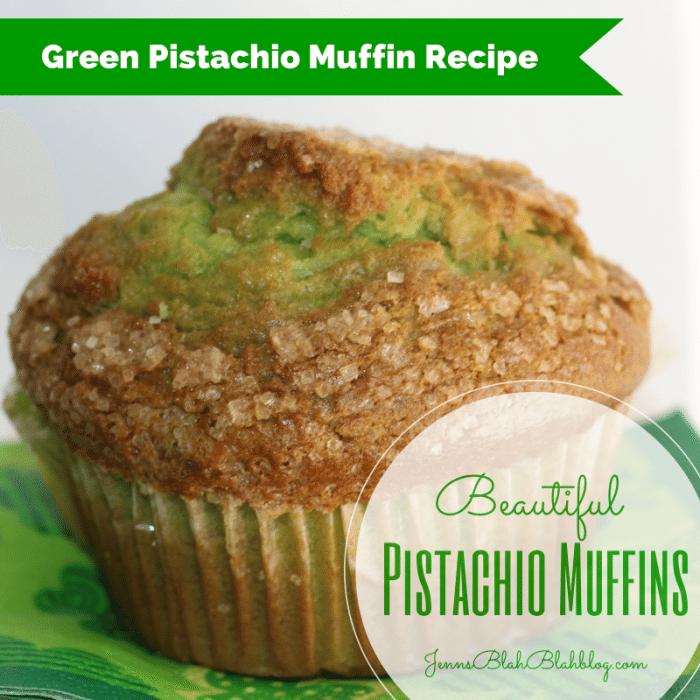 Saint Patrick's Day Recipe: Green Pistachio Muffin Recipe Pistachio Muffin