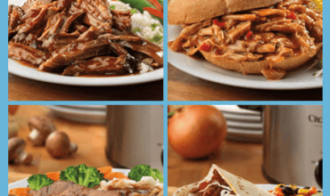 Seven Easy Slow Cooker Recipes Using Campell's Slow Cooker Sauces!