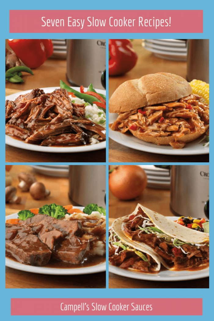 Seven Easy Slow Cooker Recipes!