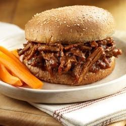 Shredded Beef Sandwiches