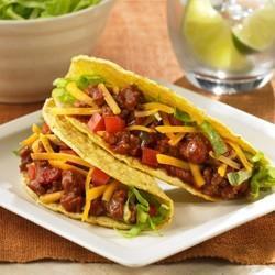 Sloppy Joe's Turkey Tacos