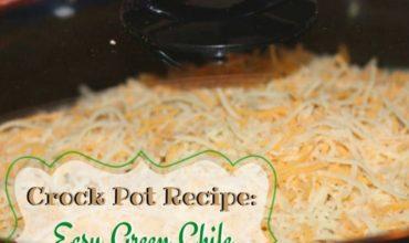 Slow Cooker Recipes: Green Chili Chicken Enchiladas Casserole