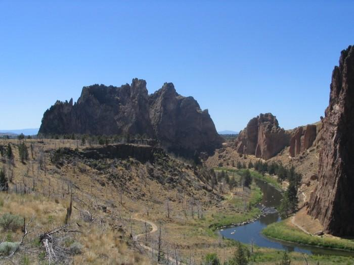 Smith Rock Oregon Five 'Must Climb' Rock Faces in North America