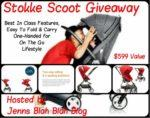 Enter to #Win The Stokke Scoot Stroller #Giveaway