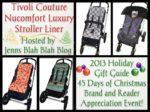 #Giveaways – Enter to #Win a Stroller Liner from Tivoli Couture