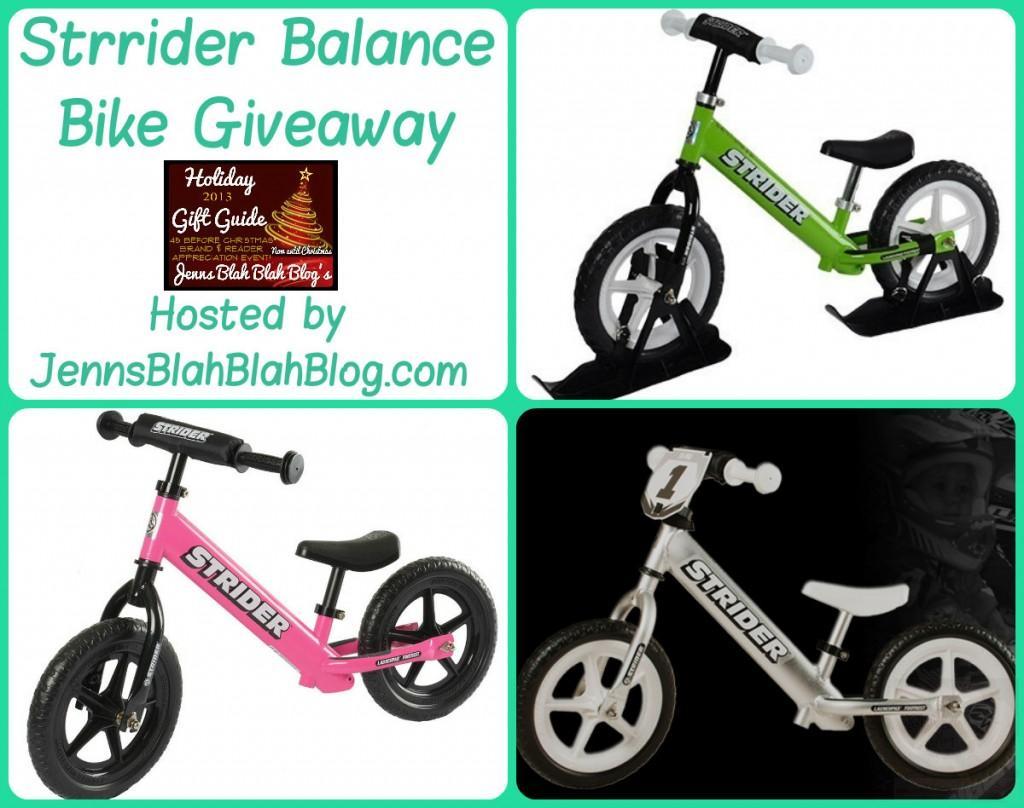 Strrider Balance Bike Giveaway