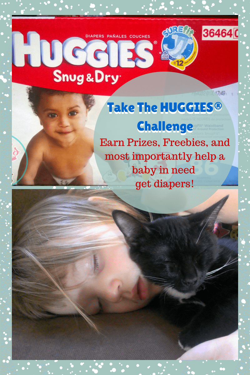 Challenge Your Diaper With Huggies Snug & Dry   Win Prizes & Help A Baby In Need!