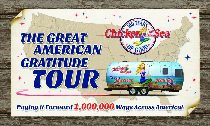 The great American Tour Chicken of the Sea