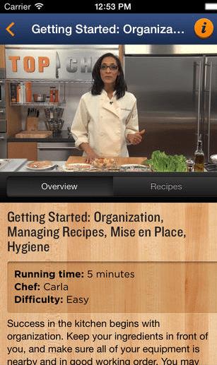 Top Chefs cooking app