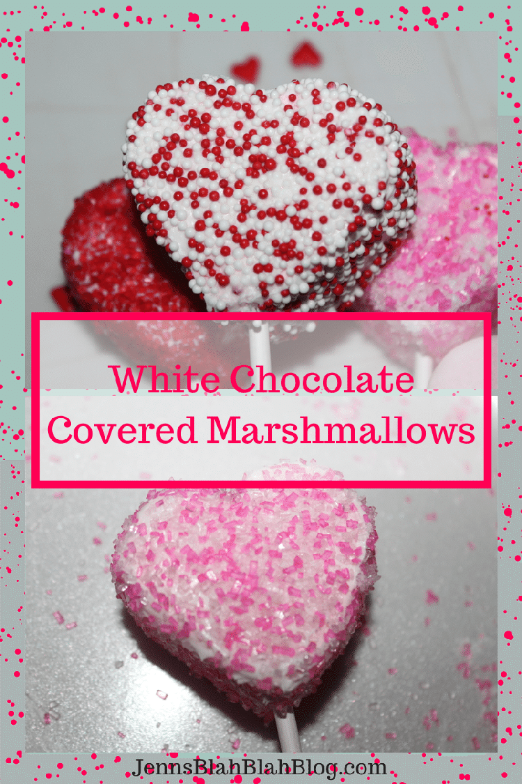 Valentines Day Recipe Fun Kids Valentines Day Recipe: White Chocolate Covered Marshmallows
