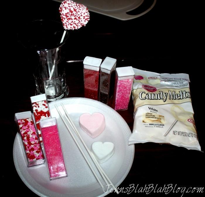 Valentines Day Recipes You Can Make With Kids 700x672 Fun Kids Valentines Day Recipe: White Chocolate Covered Marshmallows