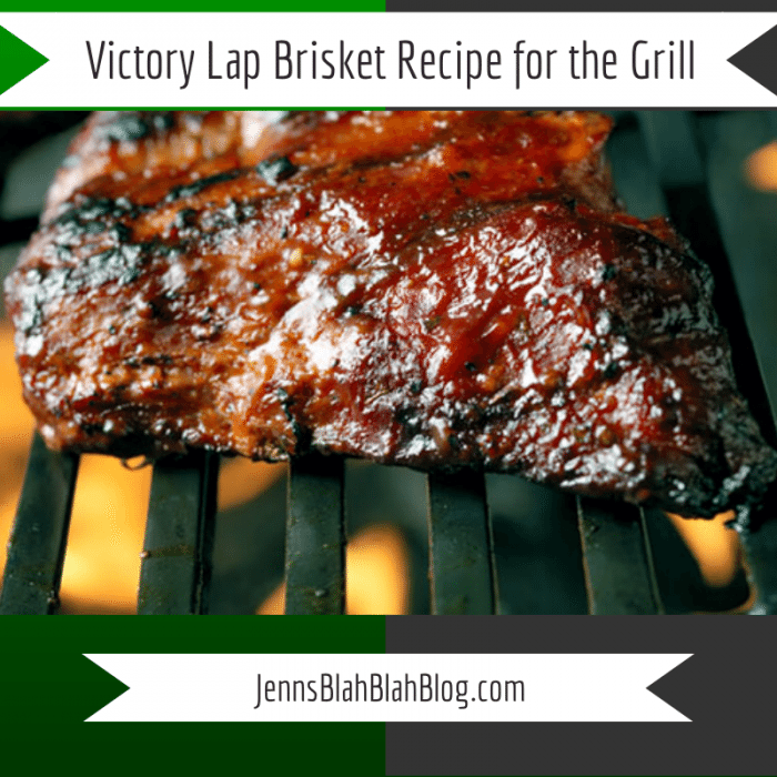 Victory Lap Brisket Recipe for the Grill