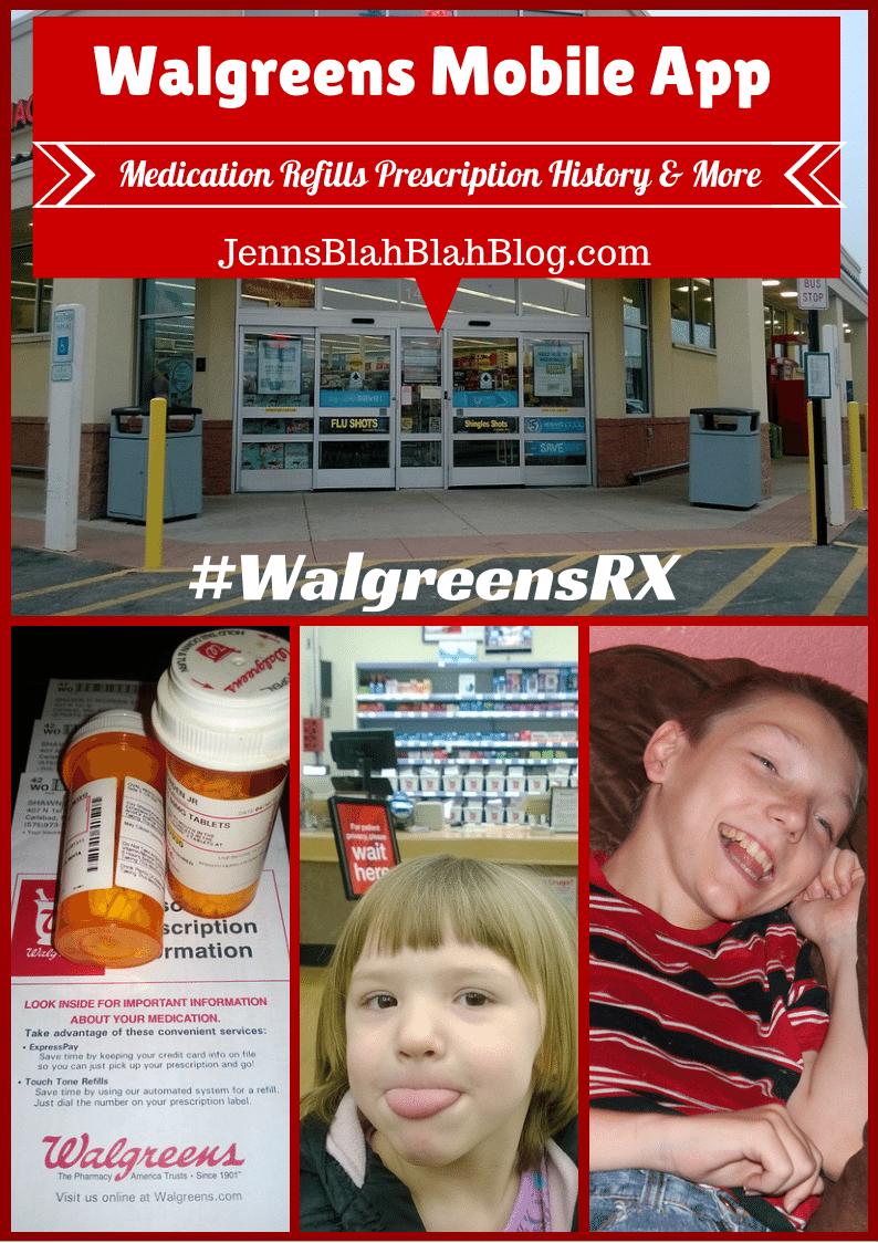 Walgreen Mobile App Medication Refills, Prescription History and More #Spop #WalgreensRX #cbias