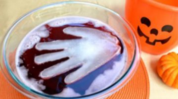 Welch's Spooky Punch Halloween Drink Recipe