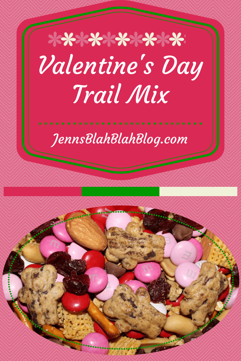 When the weather is fine 1 Looking For Valentines Day Recipe Ideas Try Valentines Day Trail Mix