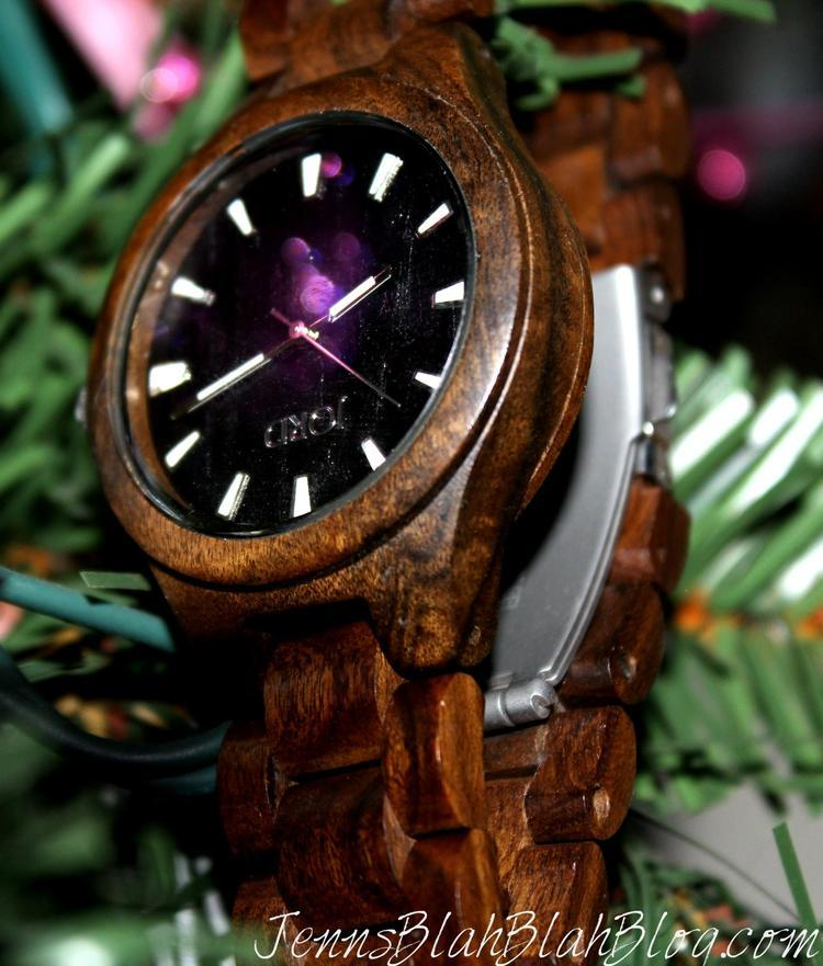 wooden watch by jord