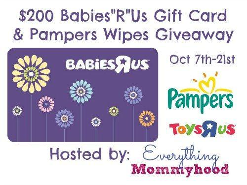 Don T Miss The Babies R Us And Pampers Giveaway Jenns