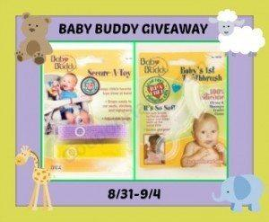 baby buddy giveaway