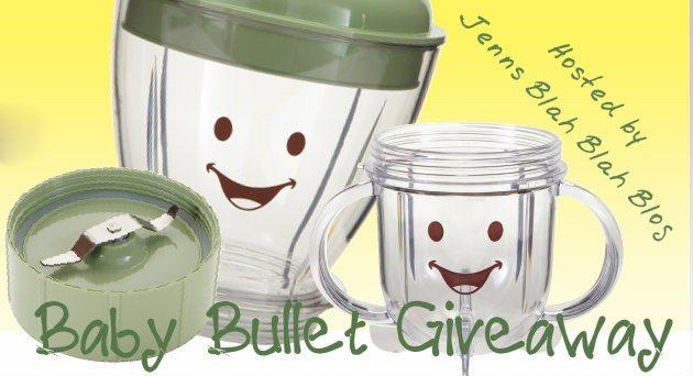baby bullet blender with yellow background