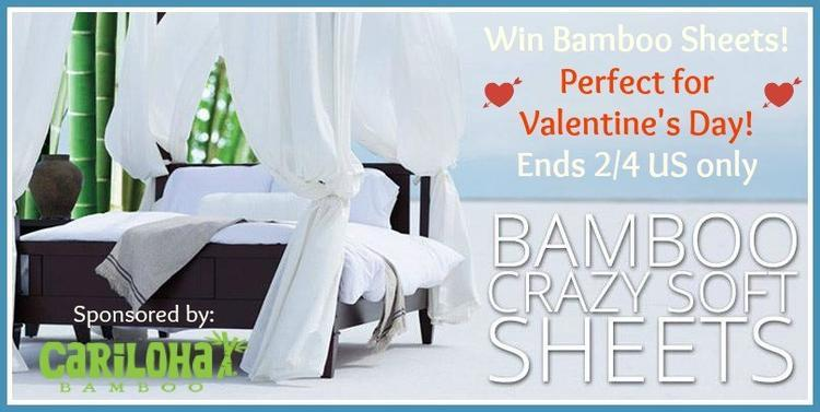 bamboo sheets giveaway