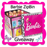 Enter to #win the Barbie ZipBin #giveaway