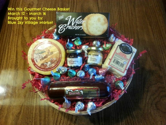 #Giveaway: Enter To #Win a Gift Basket from Blue Sky Village Market