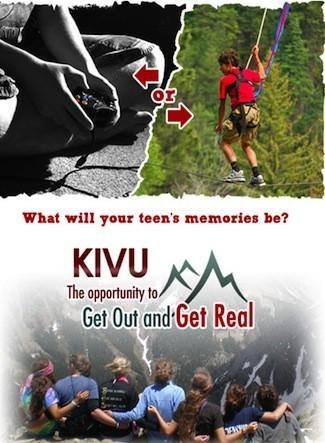 Camp KIVU: The First Class Colorado Overnight Camp for Teens to Unplug