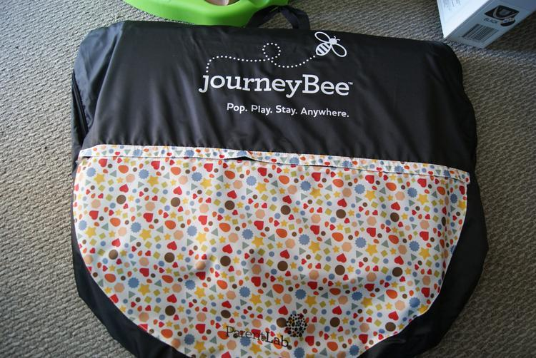 camra pics 0084  JourneyBee Portable Crib Pop, Play & Travel!
