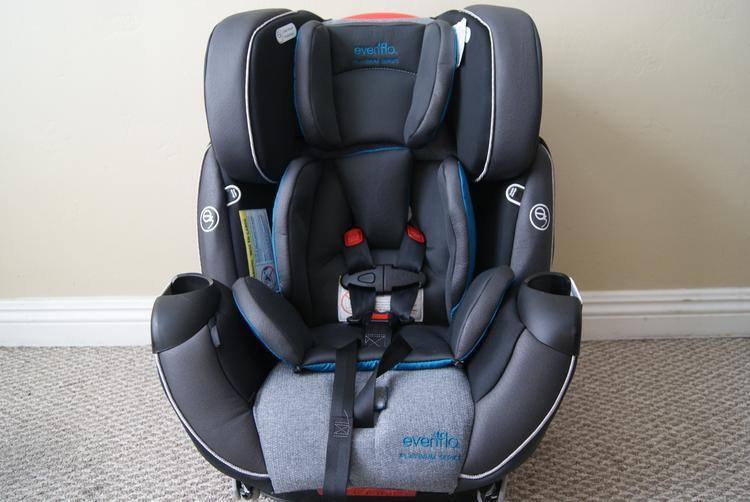 camra pics 0115 The Evenflo Platinum Symphony DLX All In One Car Seat!! Baby's Got A New Cadillac,