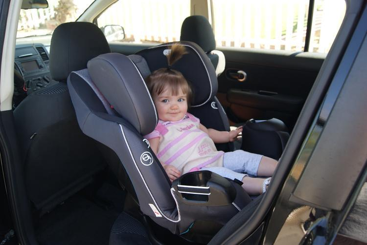 camra pics 0273 The Evenflo Platinum Symphony DLX All In One Car Seat!! Baby's Got A New Cadillac,