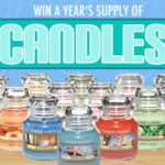 #Giveaway: Enter To #Win a Year's Supply of Yankee Candles