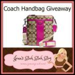 #Giveaway: Enter To #Win A Coach Signature Swingpack