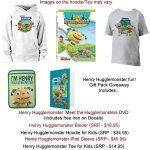 #Giveway – Enter To #Win Henry Hugglemonster Prize Pack!