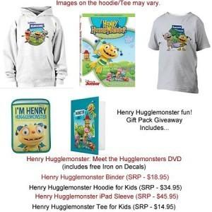 #Giveway - Enter To #Win Henry Hugglemonster Prize Pack!