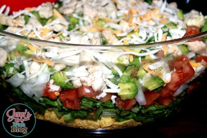 easy dinner ideas chicken taco salad Want Easy Dinners Ideas? Try This Easy Chicken Taco Salad Recipe!