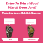 #Giveaay: Enter To #Win A Fieldcrest Series Wooden Watch