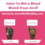 #Giveaay: Enter To #Win A Fieldcrest Series Wooden Watch