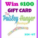 #Giveaway: Enter To #Win A Gift Card To Paisley Hanger