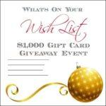What's On Your Wish List #Giveaway